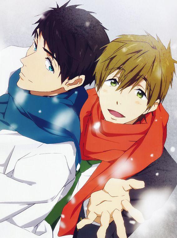 Sousuke And Makoto Together Make Too Much Babe Johanndro Tumblr Com Free Anime Anime Shows Anime
