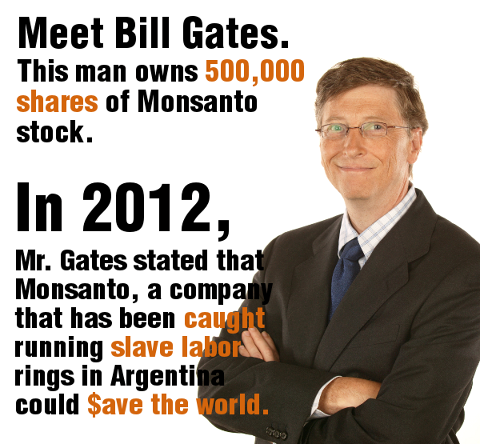 Why is the Gates foundation investing in GM giant Monsanto? | Bill ...