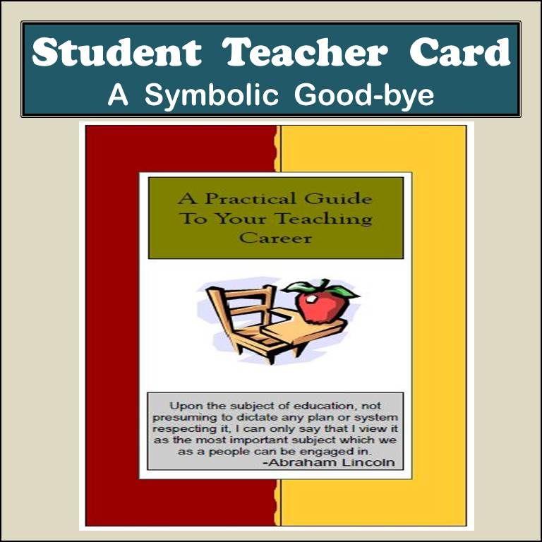 Student Teacher Card \ Letter of Recommendation Template Both - microsoft letter of recommendation template