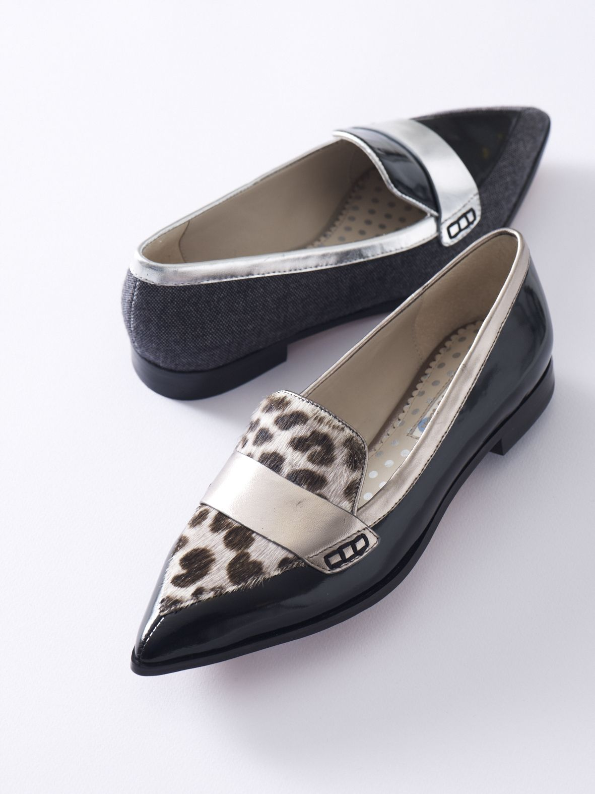 b632bed0fad Boden Pointed Loafers.