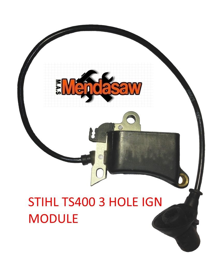 Details about STIHL TS400 IGNITION COIL 3 HOLE IGN MODULE EARLY TYPE