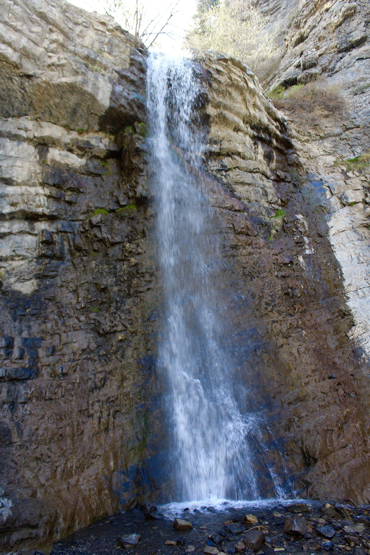 Battle Creek Falls Hike Battle Creek Pleasant Grove Utah Fall