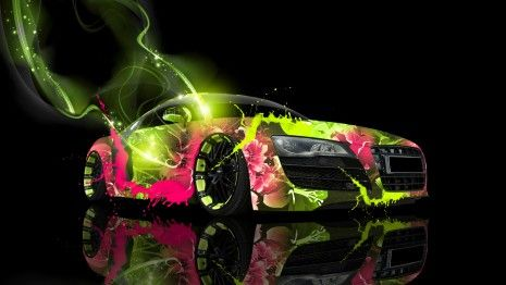 Abstract Car HD Wallpaper
