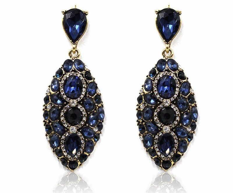 Adele Crystal Statement Earrings