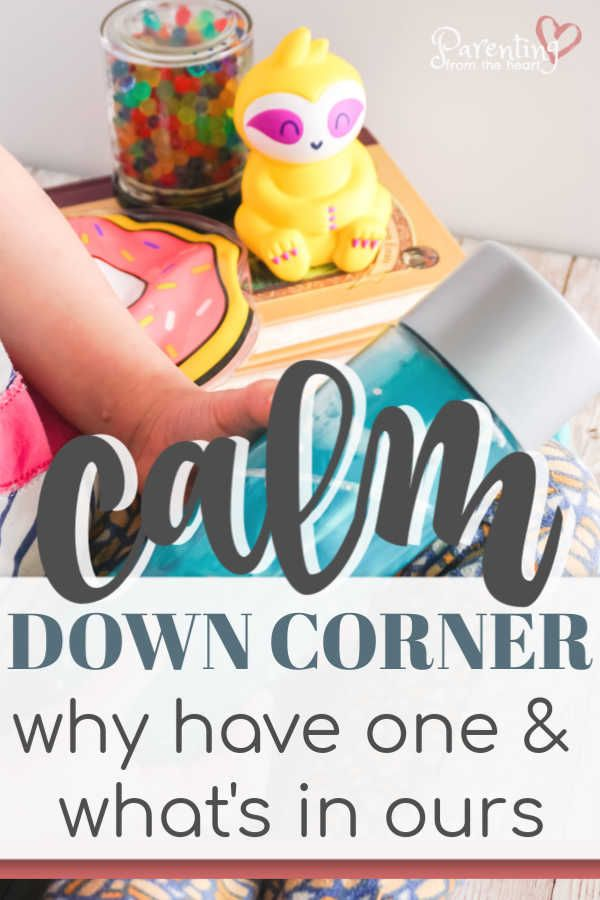 Calm Down Corner: What's In Ours & Why Have One