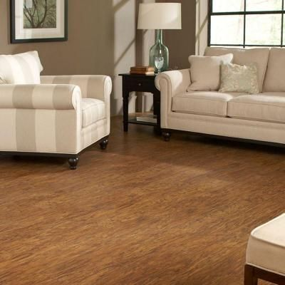 Hampton Bay Old Mill Hickory 8 Mm Thick X 5 3 8 In Wide X 47 6 8 In Length Laminate Flooring 25 19 Sq Ft Case 367551 00086 Finished Basement Ideas Laminate Flooring Flooring Easy Install