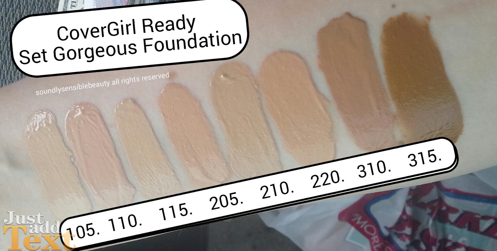 CoverGirl Ready Set Foundation Review & Swatches