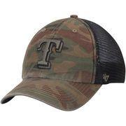 Men's Texas Rangers '47 Camo/Black Beaufort Closer Flex Hat