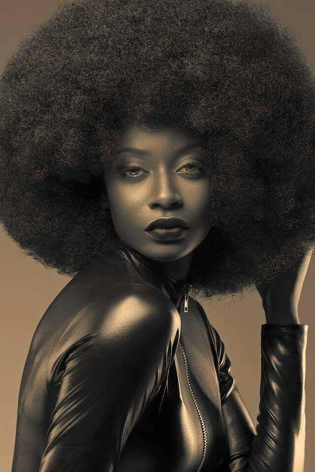 Old School Afro With Images Natural Hair Care African American