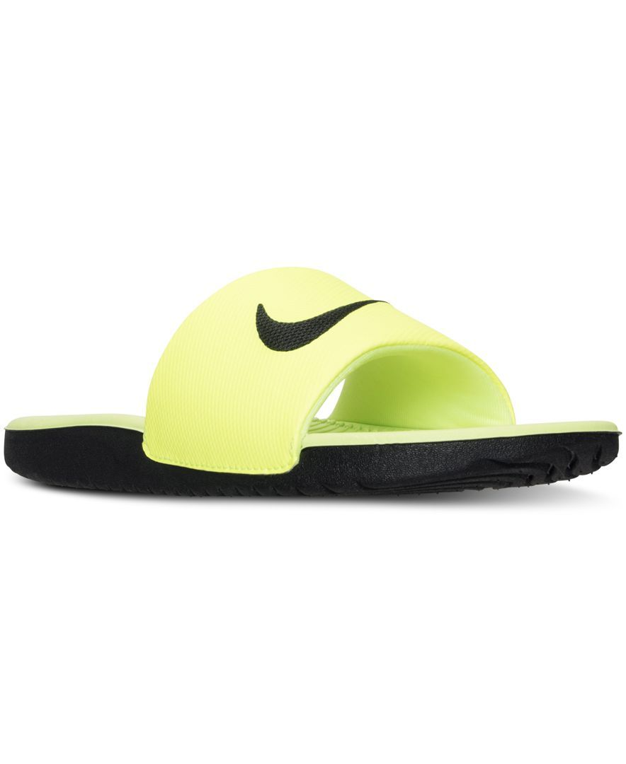 bd1c5109f Nike Boys  Kawa Slide Sandals from Finish Line