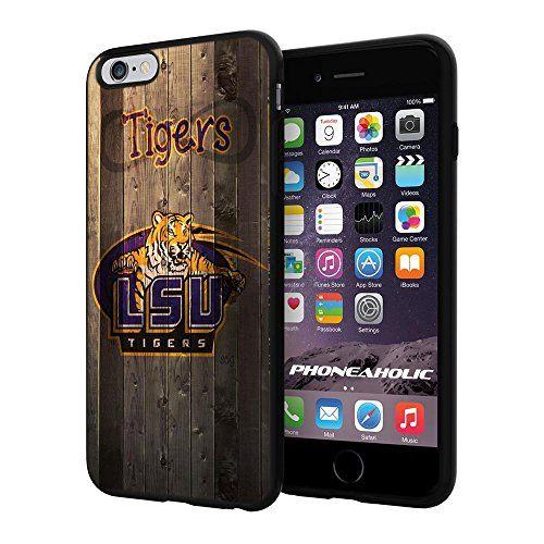 "NCAA LSU Tiger football, Cool iPhone 6 Plus (6+ , 5.5"") Smartphone Case Cover Collector iphone TPU Rubber Case Black Phoneaholic http://www.amazon.com/dp/B00VUAS01K/ref=cm_sw_r_pi_dp_scFnvb0BH51XB"
