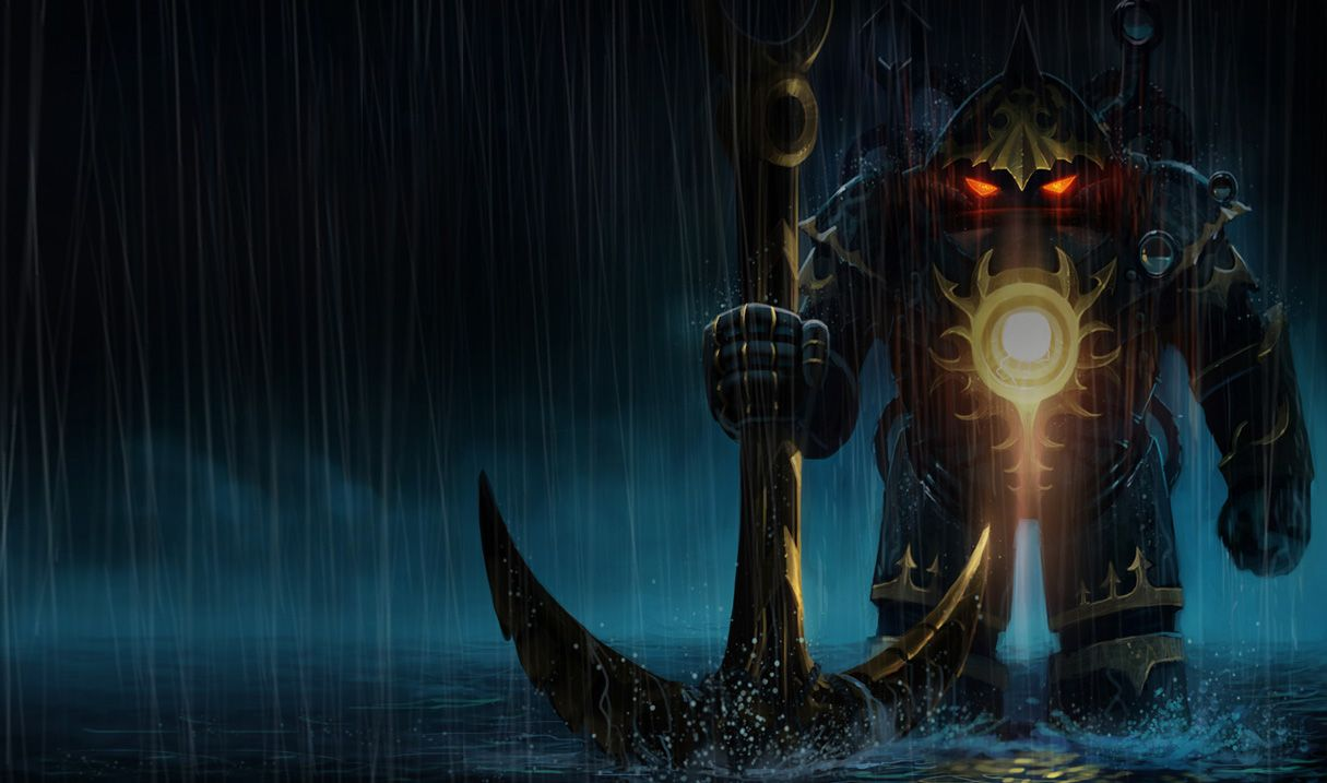 This Nautilus is awesome. League of legends, Lol league