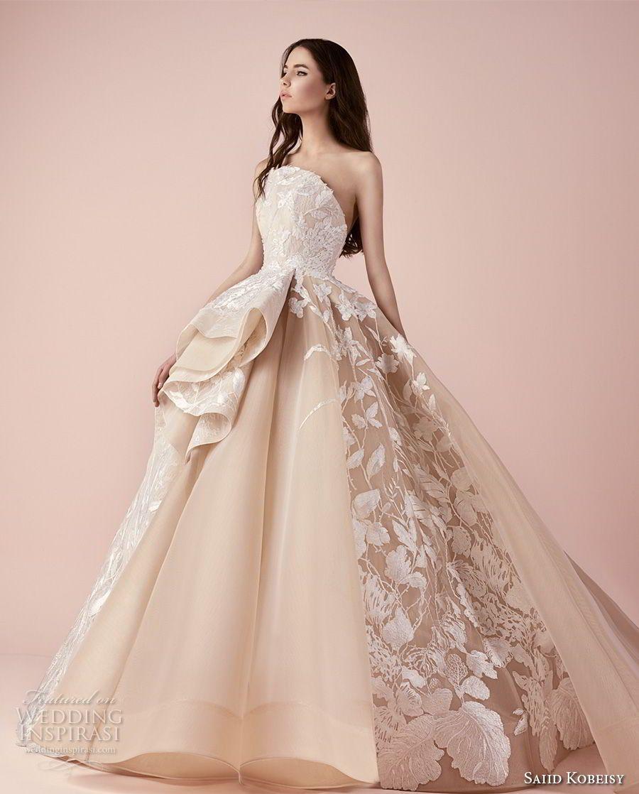 Saiid Kobeisy 2018 Wedding Dresses | Novios, Vestidos de novia y De ...