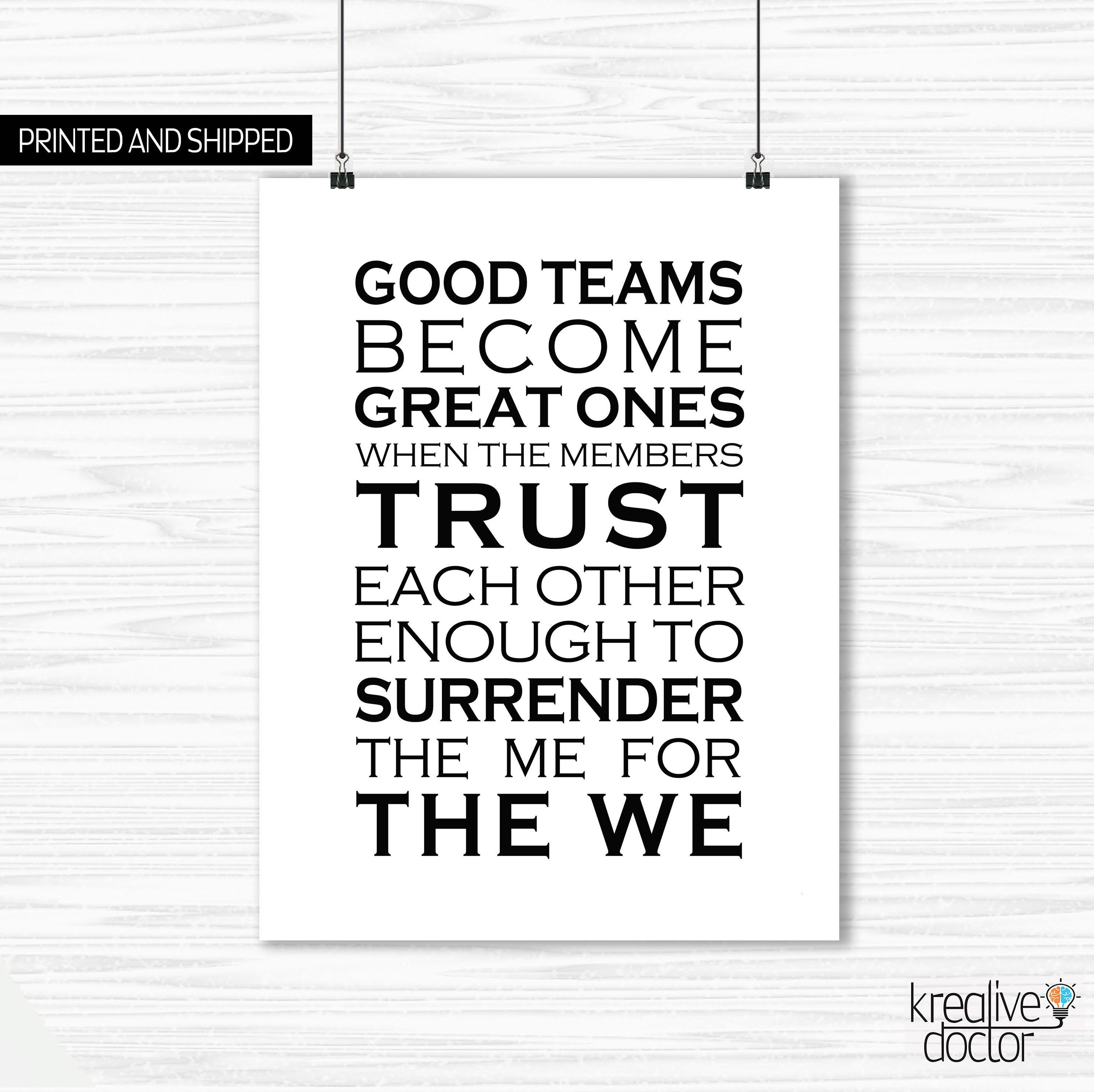 Motivational Quotes For Workplace Teamwork