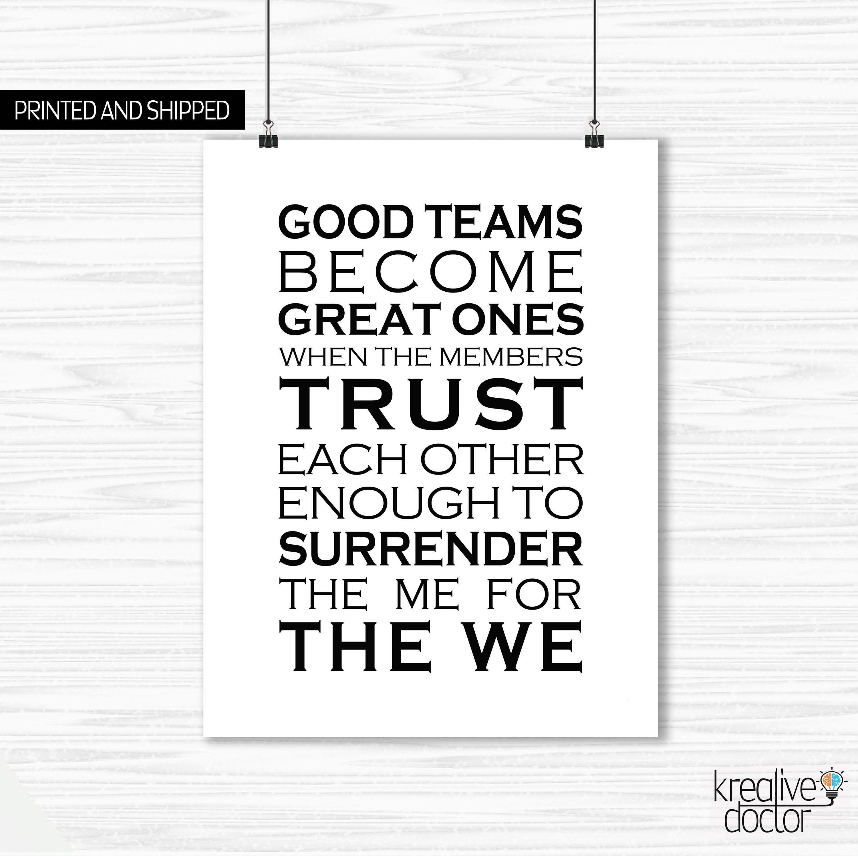 Teamwork Quotes For The Office Teamwork Motivational Poster Inspirational Teamwork Qu Workplace Quotes Inspirational Teamwork Quotes Positive Quotes For Work