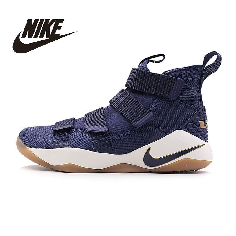 dbccc43fa NIKE Original New Arrival Mens LEBRON SOLDIER XI EP Basketball Shoes  Breathable High Quality Comfortable For Men 897645 897647