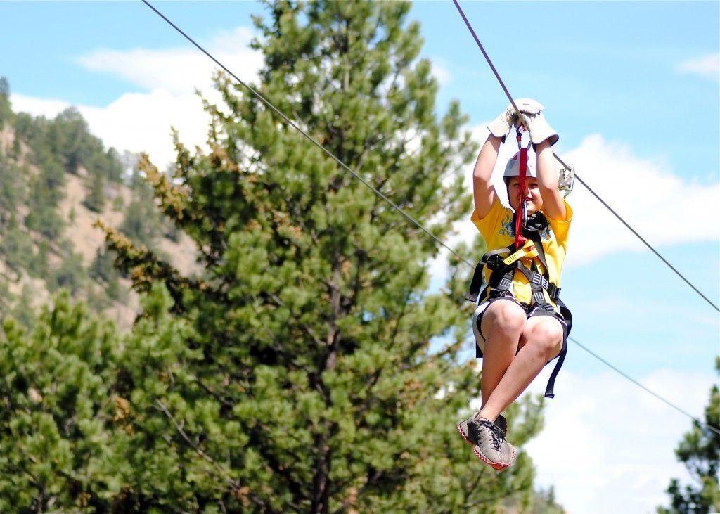 Canopy Zip Idaho Springs Idaho Springs Colorado Adventures Ziplining