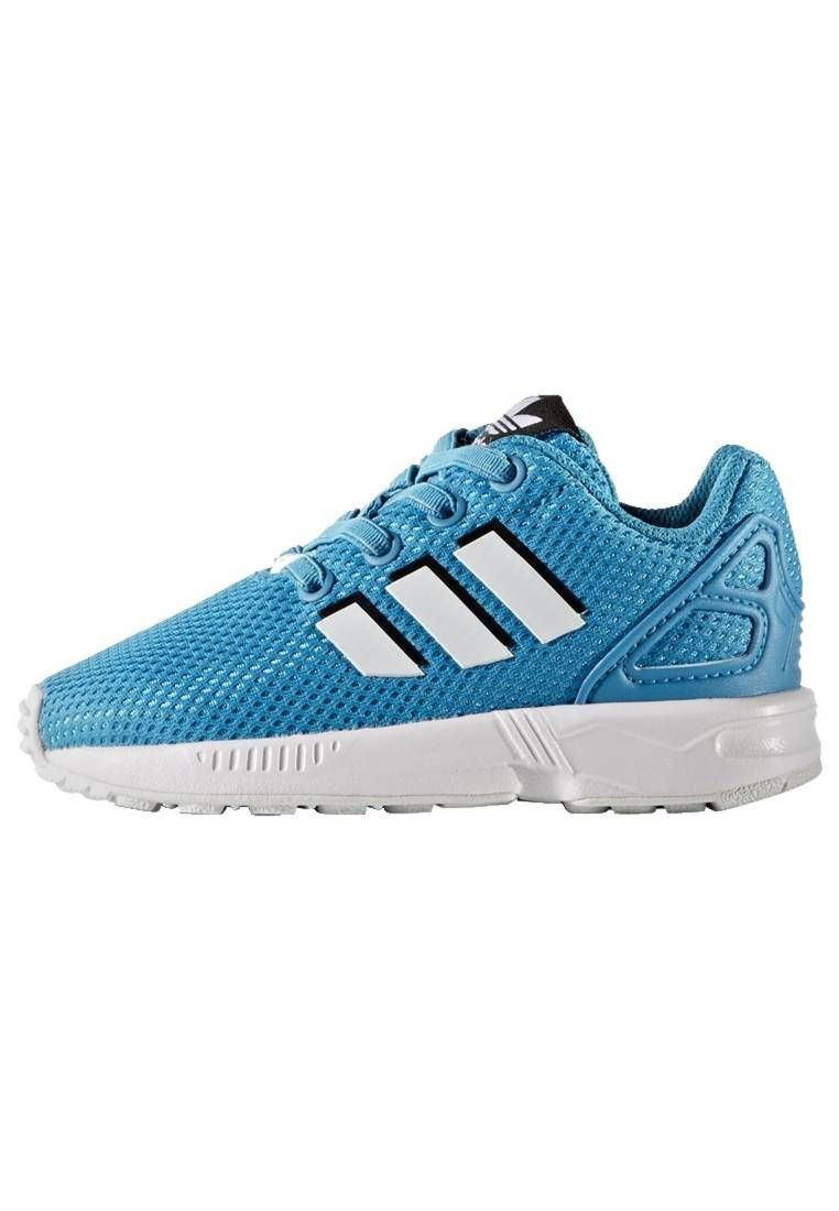 adidas Originals. ZX FLUX - Zapatillas - bold aqua/footwear ...