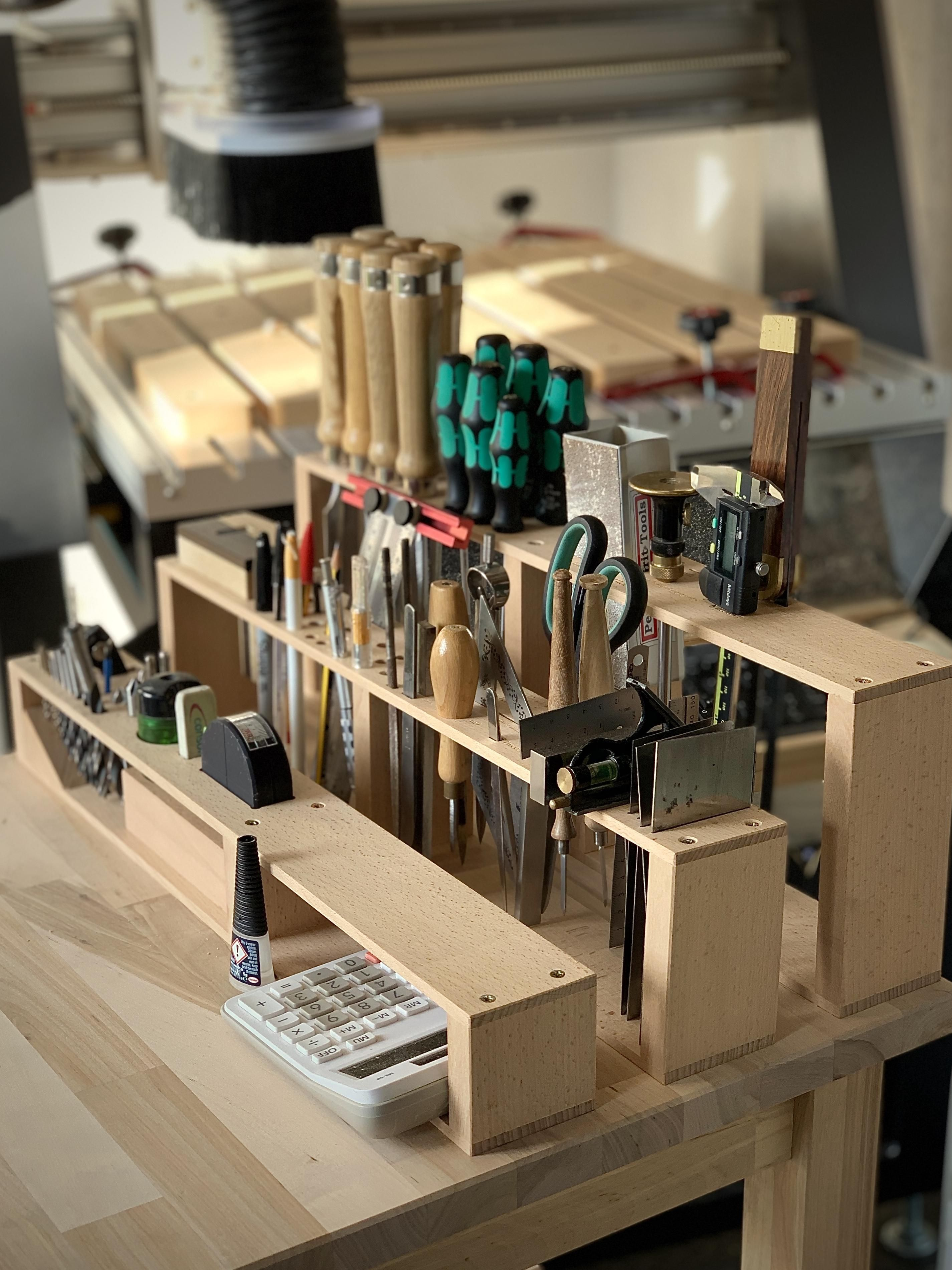 Some Hand Tool Organisation Click To See The Diy For This And