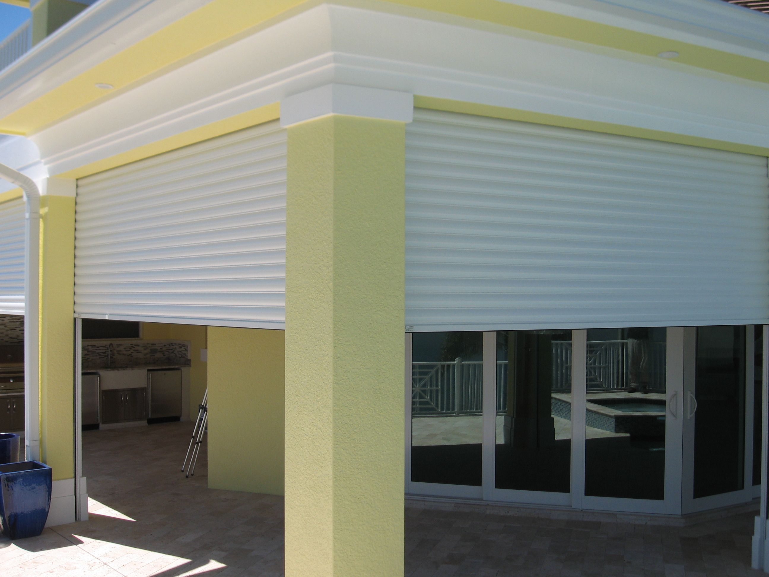 Enclosed Porch With Hurricane Shutters Nc Hurricane