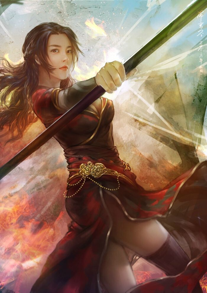 Pin By Max Nieto On Anime In 2020 Chinese Art Girl Female Martial Artists Character Art