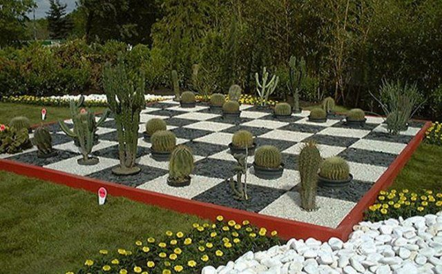 Garden Design Game Creative Garden Design Ideas Cactus Chess  Verde Que Te Quiero Verde .