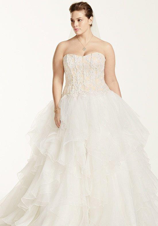 David\'s Bridal David\'s Bridal Woman Style 8CWG568 Wedding Dress ...