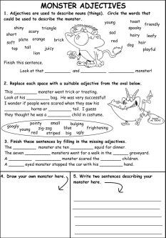 halloween reading worksheets for kids | Halloween Theme ...