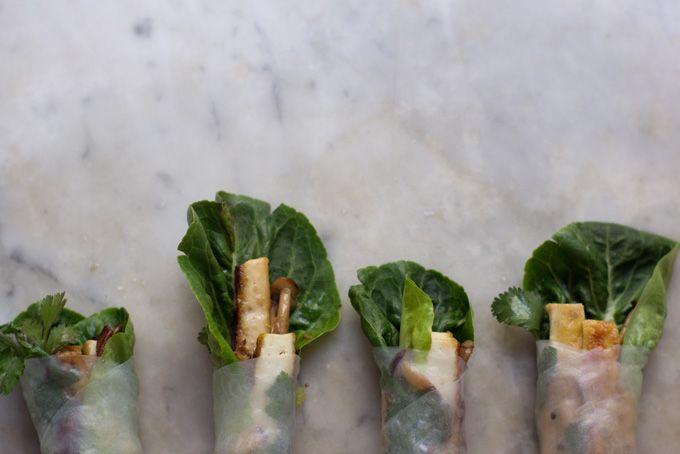 Wintery Spring Rolls Recipe