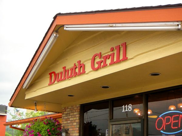 The Duluth Grill They Grow A Lot Of Their Vegetables On Site And
