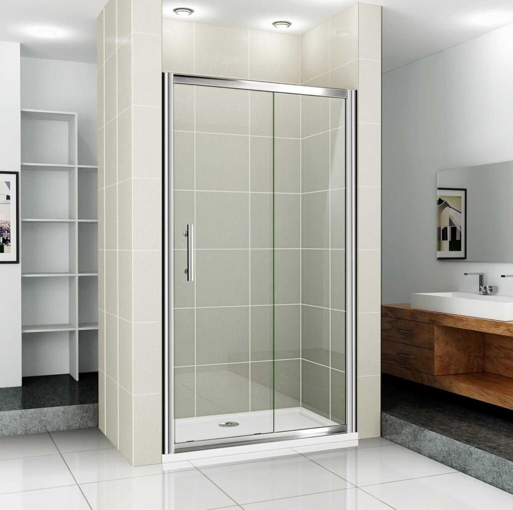 Sliding Shower Doors For Small Spaces Sliding Shower Door Glass Shower Shower Doors
