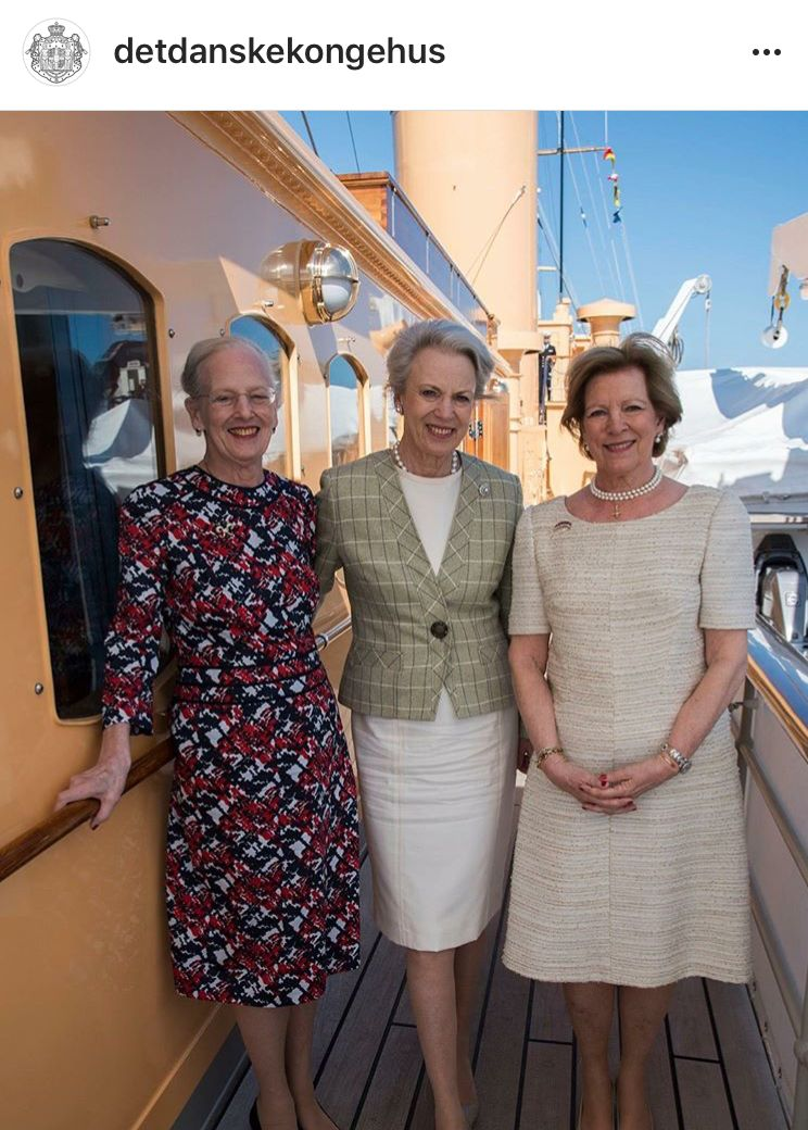 05/052018 Queen Margrethe and Queen Anne Marie and