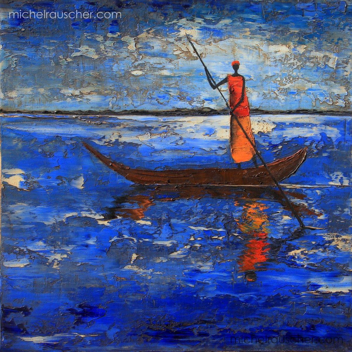 Michel RAUSCHER | Peintures - Huile sur toile - Sans titre-40x 40 ...