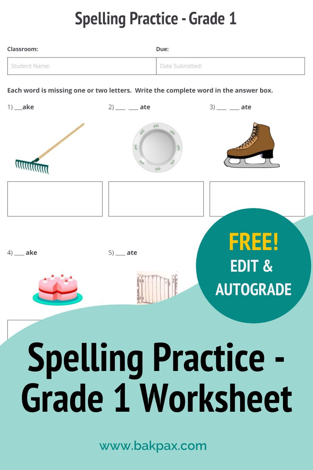 36+ Free customizable spelling worksheets Top