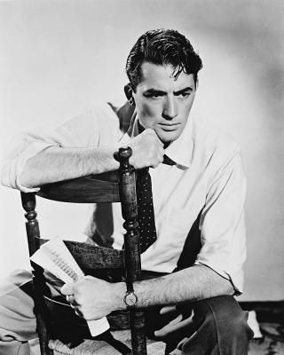 Gregory Peck. Isn't he perfect?