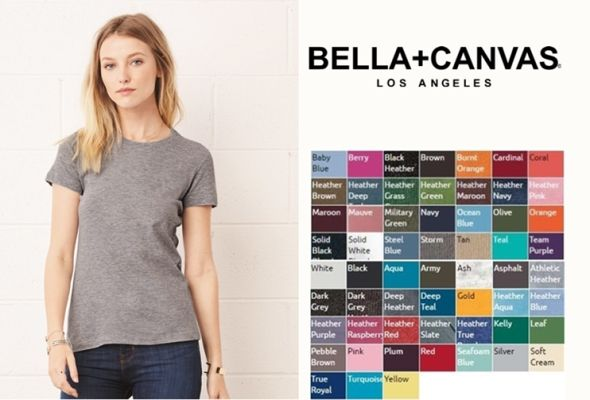 Bella Canvas 6004 Ladies Favorite Tee from NYFifth