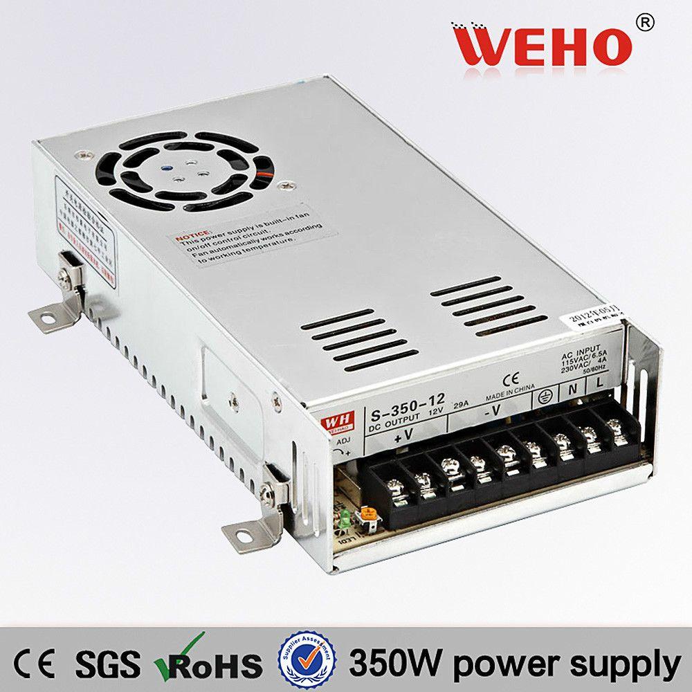 S 350 13 8 Ce Rohs 13 8vdc Output 350 Watt Power Supply Switching 25 Amp 13 8v Switch Power Supply Power Supply Diy Cnc Router Led Light Strips
