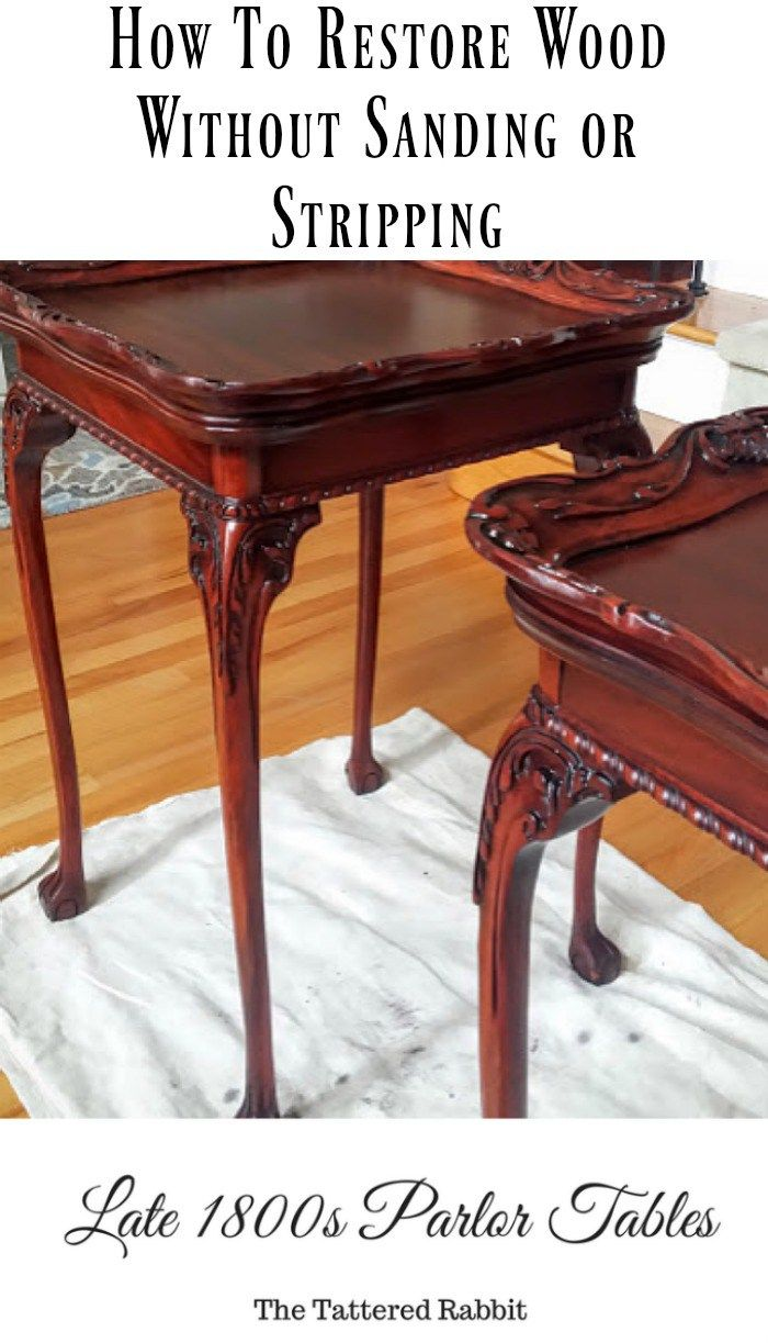 restore wood without sanding or stripping   Restore wood ...