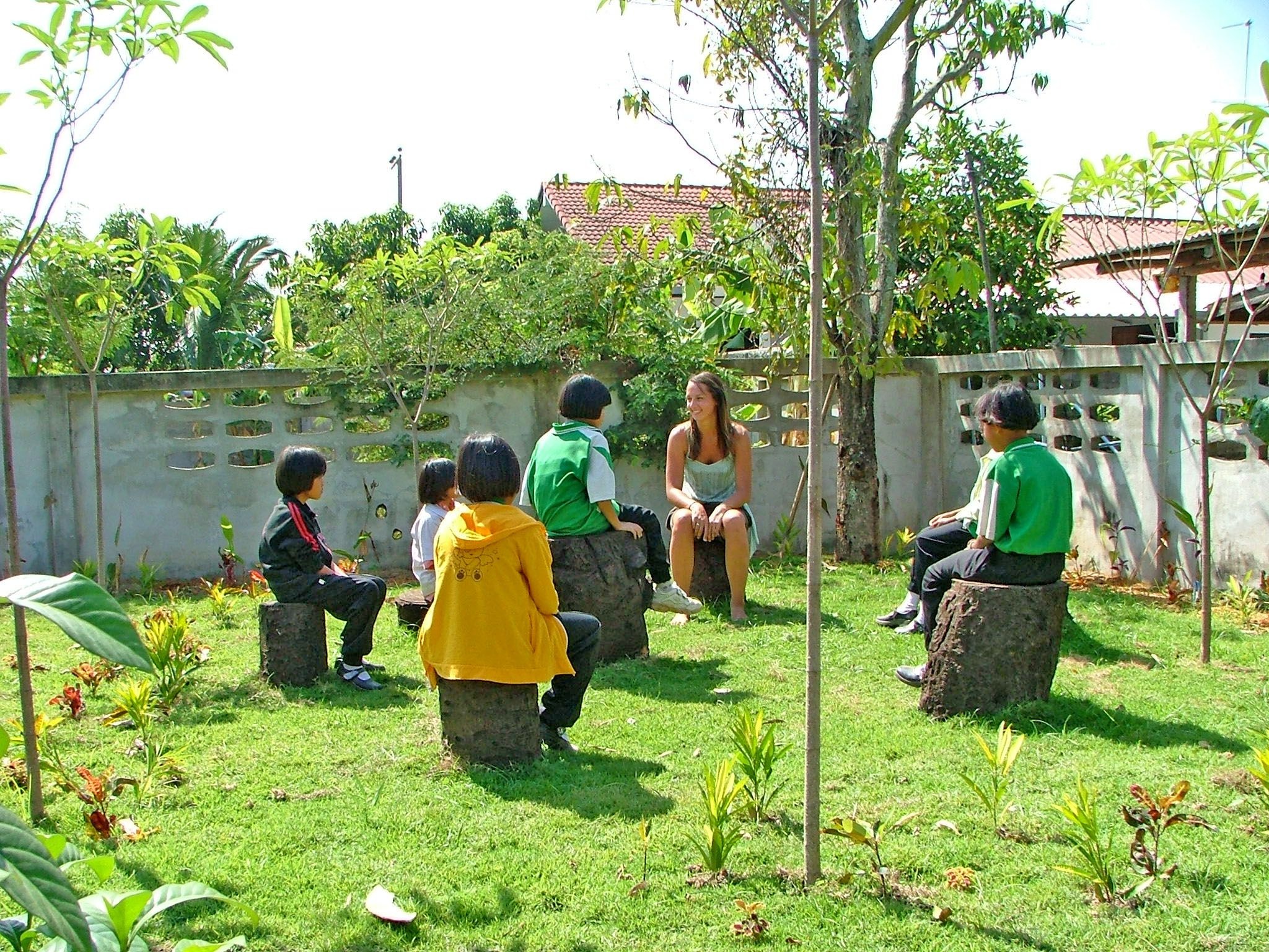 Childcare volunteer project in Sangkhlaburi, Thailand.