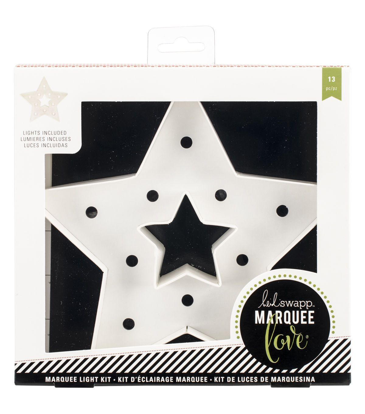 Heidi Swapp Marquee Love Christmas Paper Shape-Star | Products ...