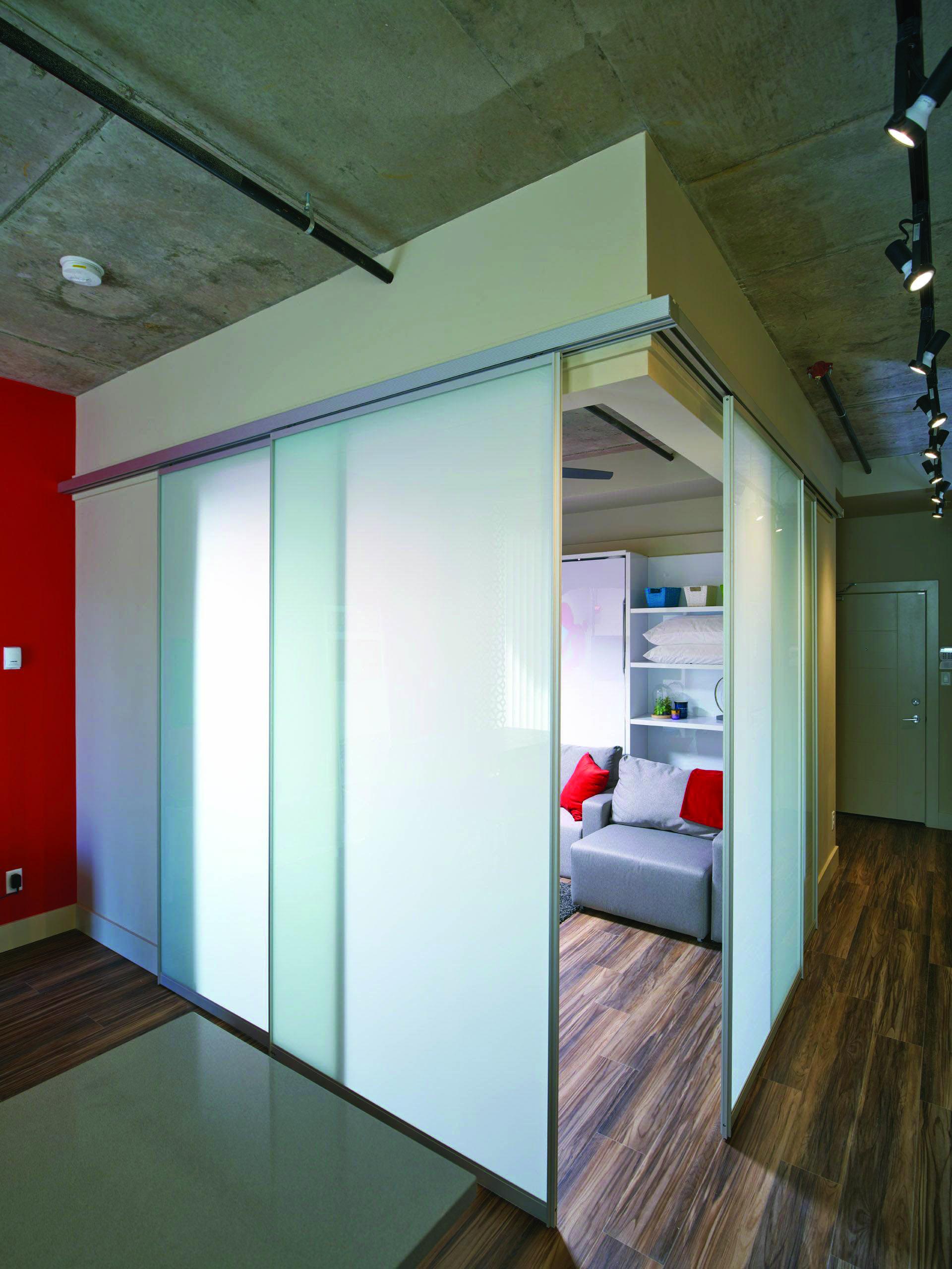 Moving Door Styles For Bedroom Sliding Glass Door Room Divider