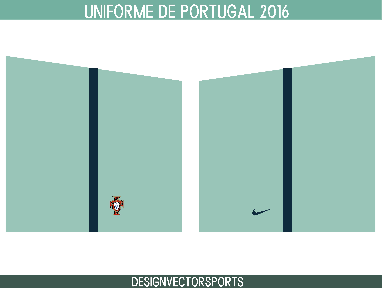 portugal uniforme 2016 2017 designvectorsports. Black Bedroom Furniture Sets. Home Design Ideas