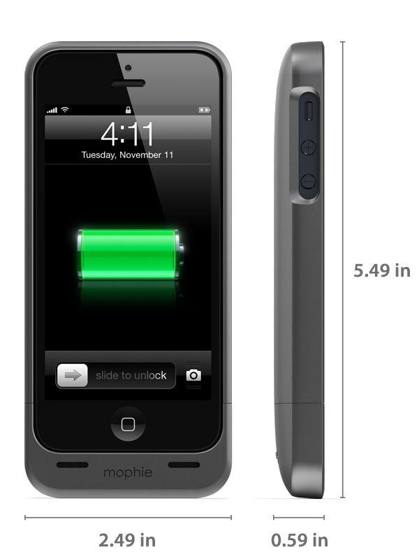 Claro, que primero necesito el iPhone 5... juice pack helium™ - iPhone 5