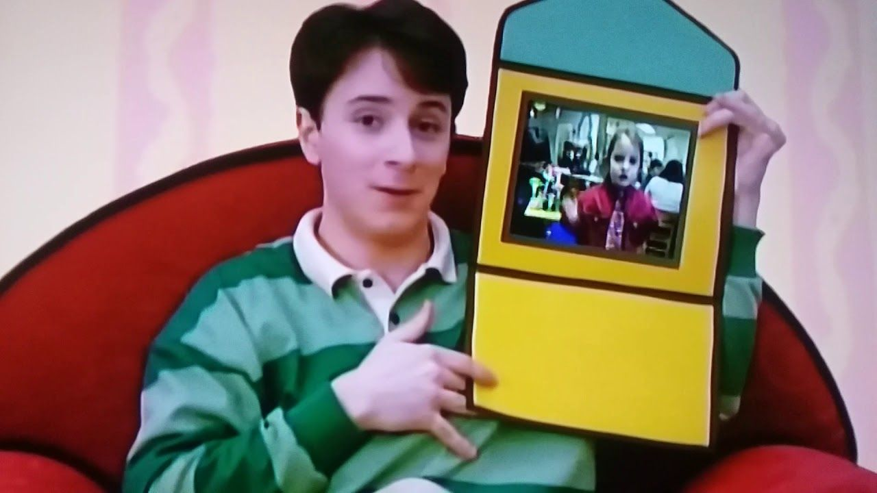 Blue's Clues Video Letter Segment (What Time Is It For