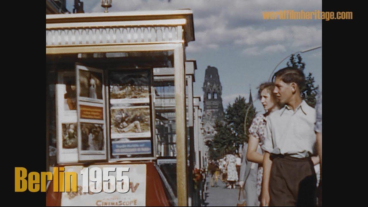 Berlin 1955 Color Brandenburger Tor Ohne Quadriga Ku Damm Stadion In 2020 Brandenburger Tor Stadion Historisch