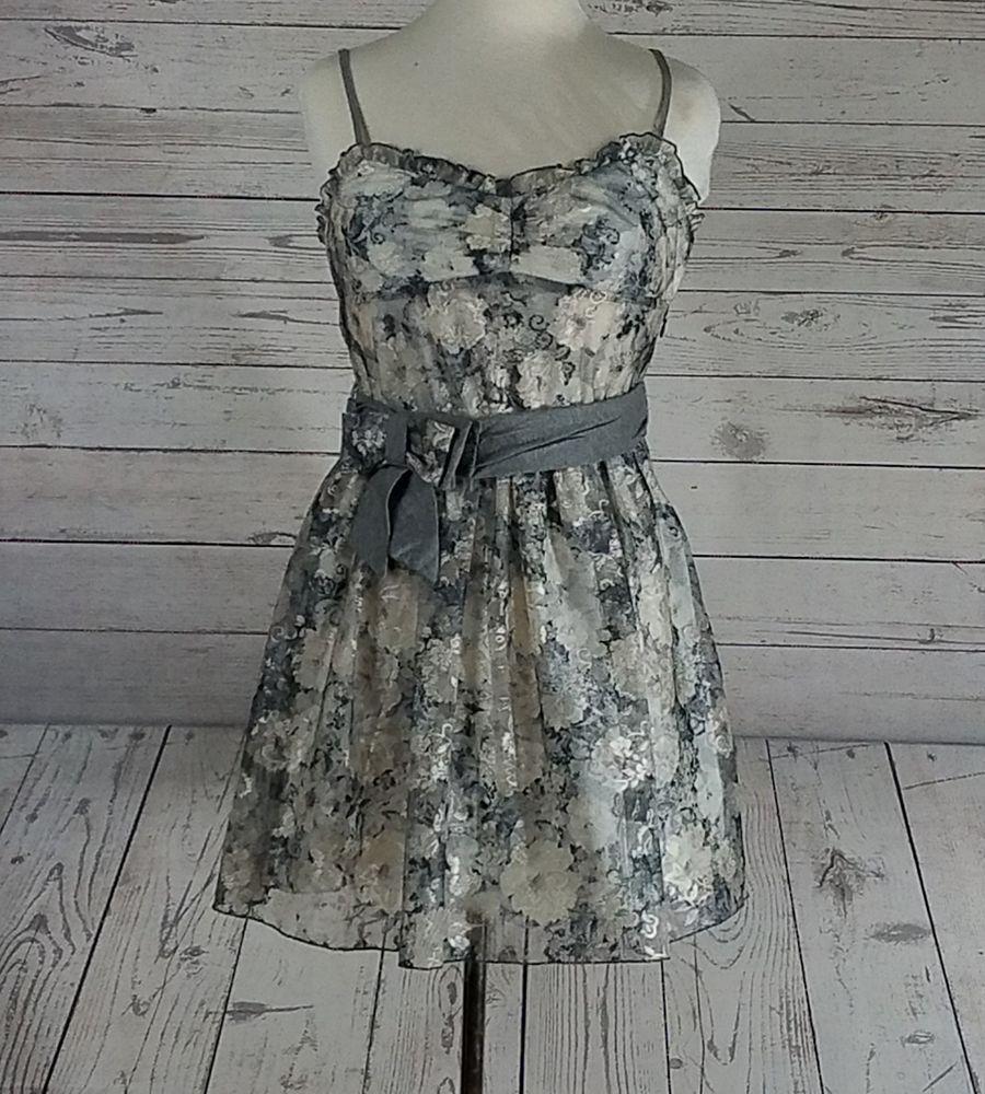 White lace dress zara  Zara Erf Night Collection Size Medium RUNS SMALL Cream u Gray Lace
