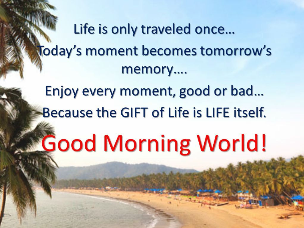 good morning world quotes with images go back gallery for good morning world
