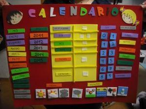 Calendario It.Cartel Para Ambientacion Calendario Para El Aula