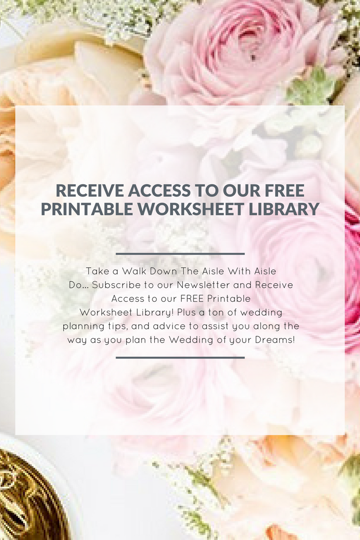 download a printable library of free wedding worksheets questions