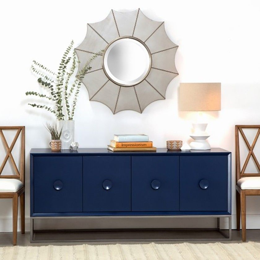 Redford House Furniture Spencer Entertainment Console   Blueberry |  Buffets, Sideboards U0026 Credenzas | Dining Room | Furniture | Candelabra, Inc.